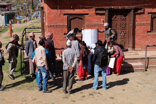 Community Meeting in Rural Nepal. Photo credit: World Bank