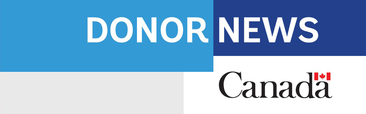 Donor News: Canada