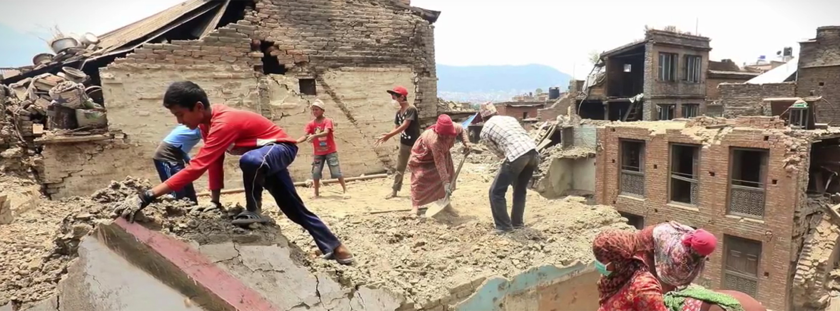 Rebuilding Nepal one brick at a time. Photo credit: World Bank