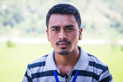 Samir BK – Sub Engineer, National Society for Earthquake Technology-Nepal (NSET)